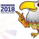 Logo Asian ParaGames 2018 di Jakarta