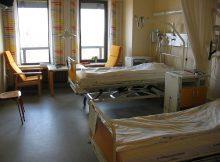 Ilustrasi kamar rumah sakit
